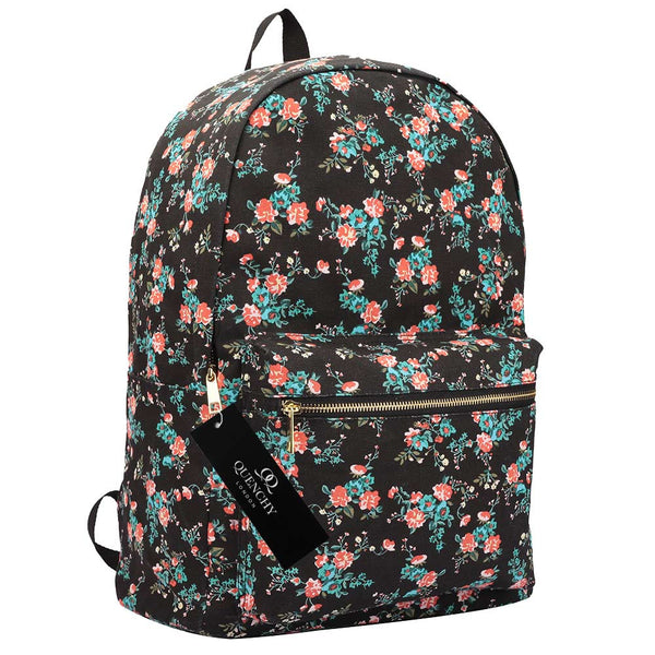 15 FUNKY COLOURS Canvas Backpack Rucksack Bag - Quenchy QL716M - 7Bags 2a400ec98be44