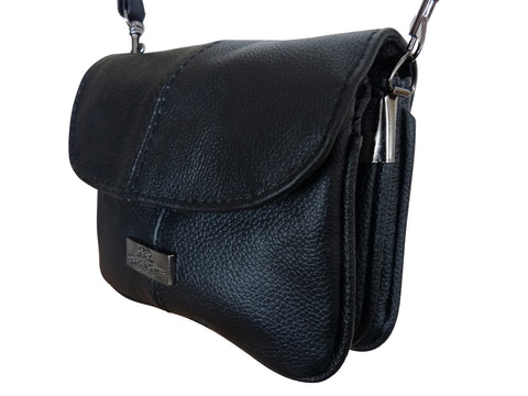 Small Bag - Leather Cross Body Shoulder Handbag Pouch QL737
