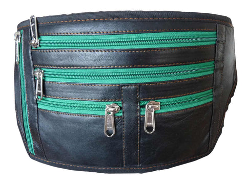 Large Leather Money Belt Bumbag RL914LRas