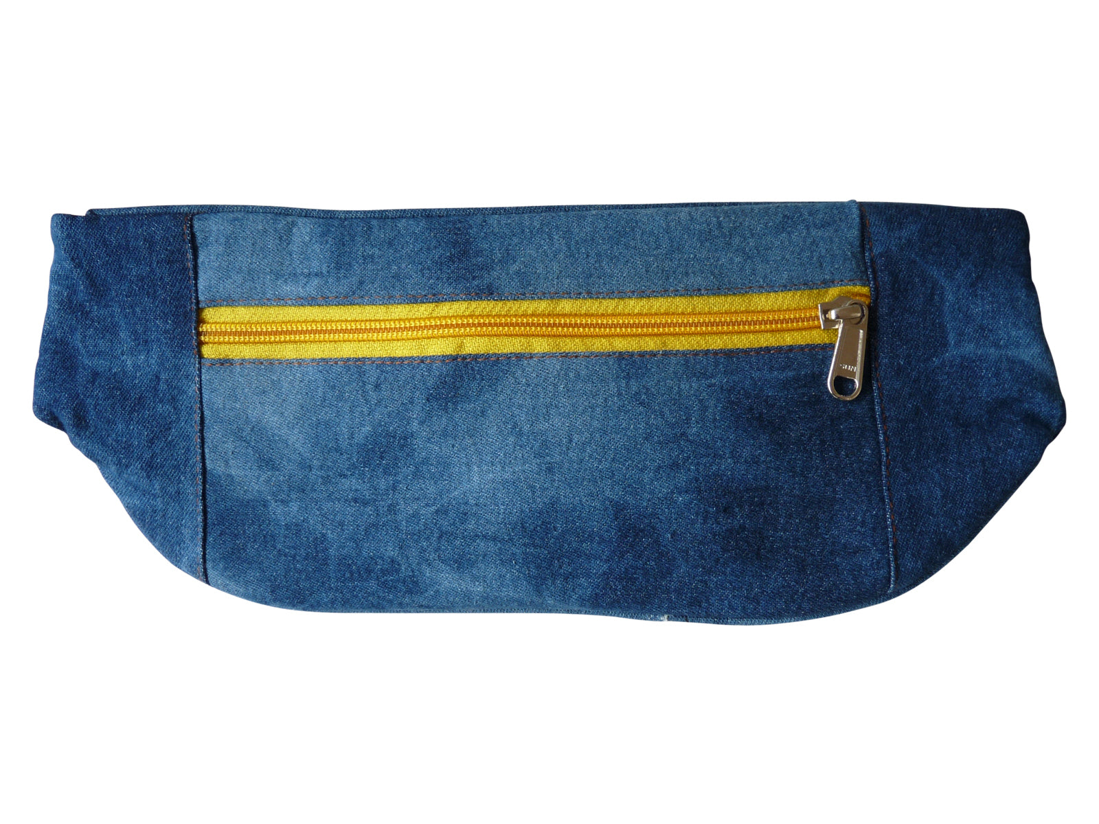 Flat Denim Bumbag RL252D back view