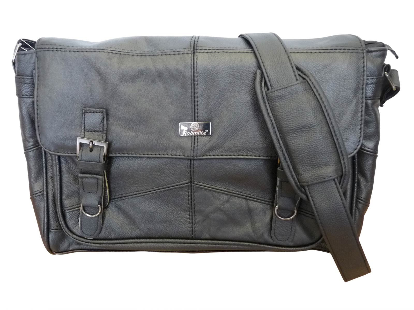 Leather Messenger Bag main RL753