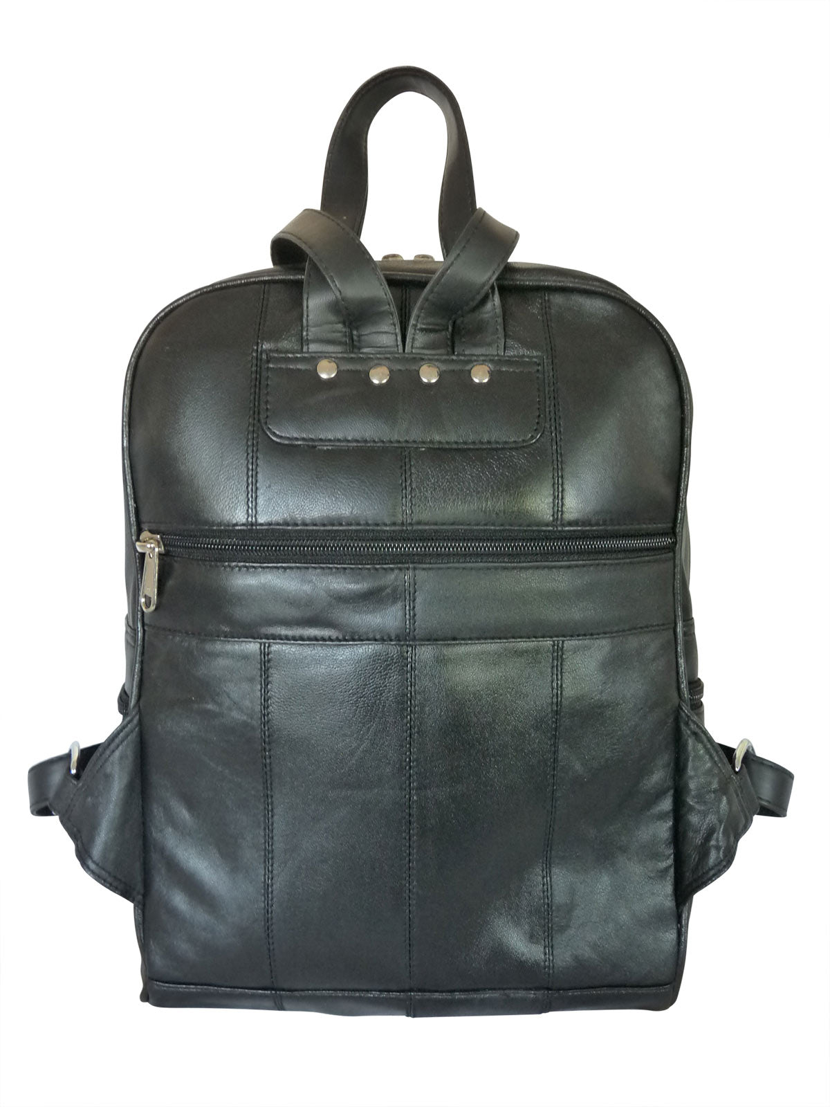 Real leather rucksack handbag QL193Kf