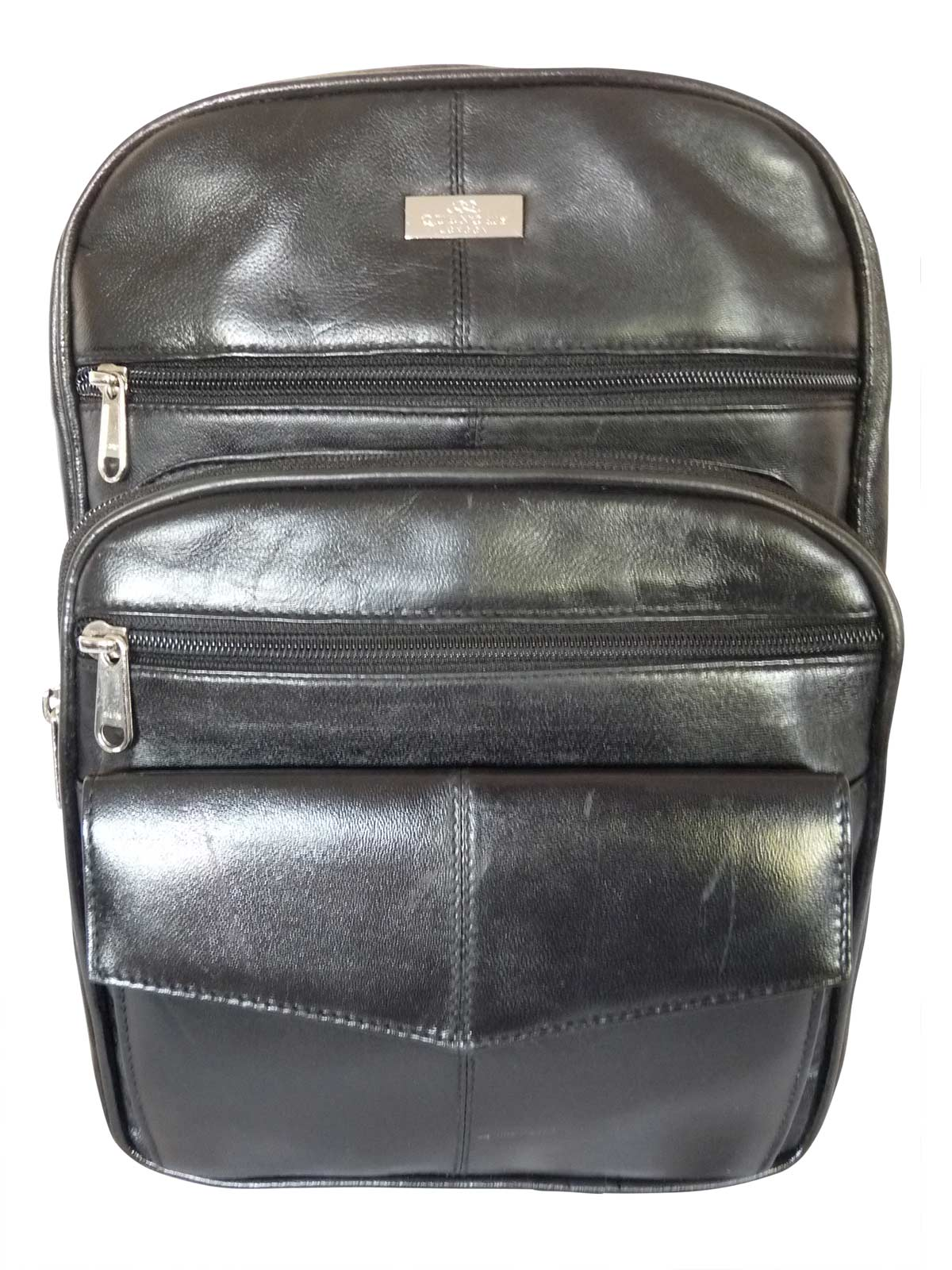 Womens Real leather backpack handbag QL192Kf