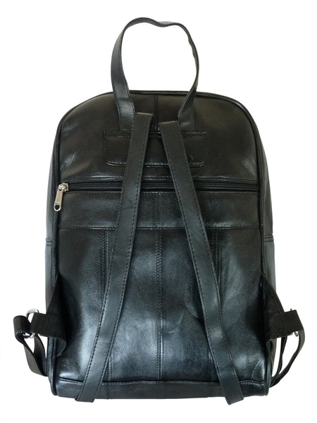 Womens Real leather rucksack hand bag QL192Kbb