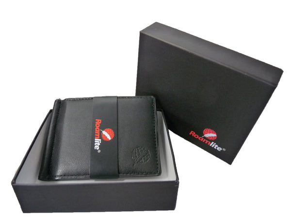 Leather Money Clip RFID Blocking Wallet RL192K gift boxed view2