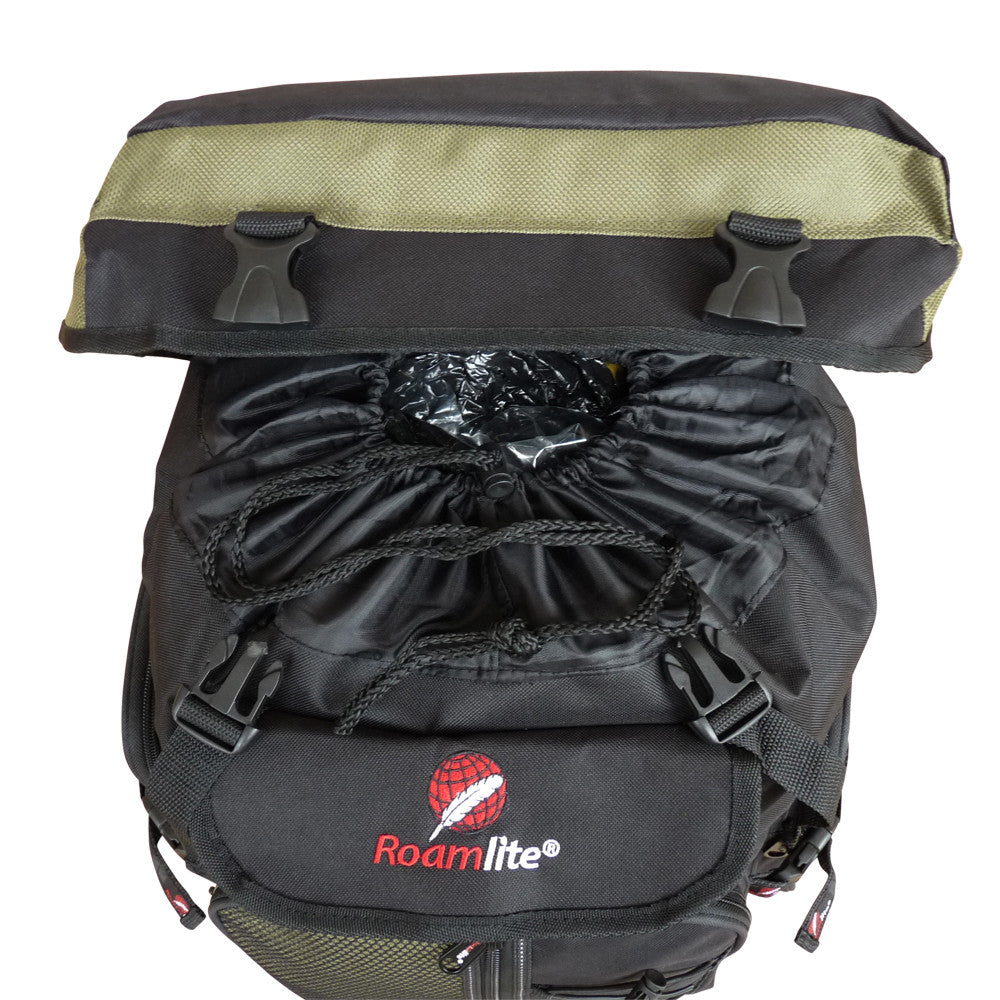 60 65 Litre Festival Camping Backpack Bag RL05Gt