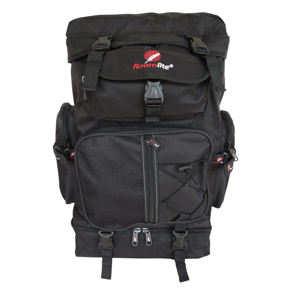 60 65 Litre Festival Camping Backpack Bag RL05Kf