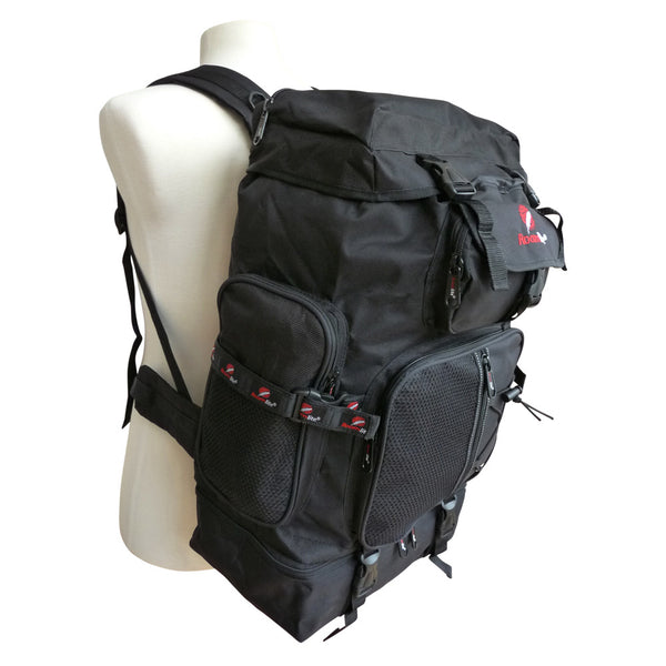 60 65 Litre Festival Camping Backpack Bag RL05Kman