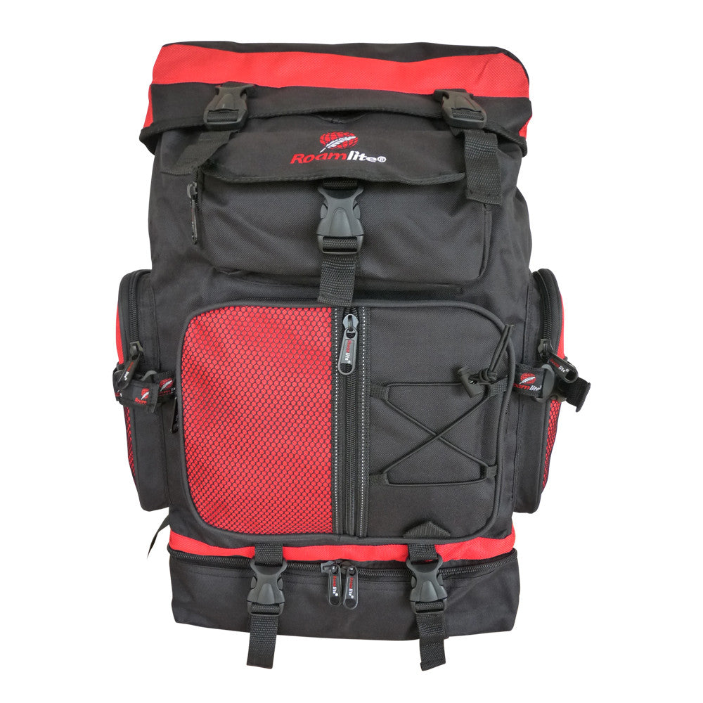 60 65 Litre Festival Camping Backpack Bag RL05Rf