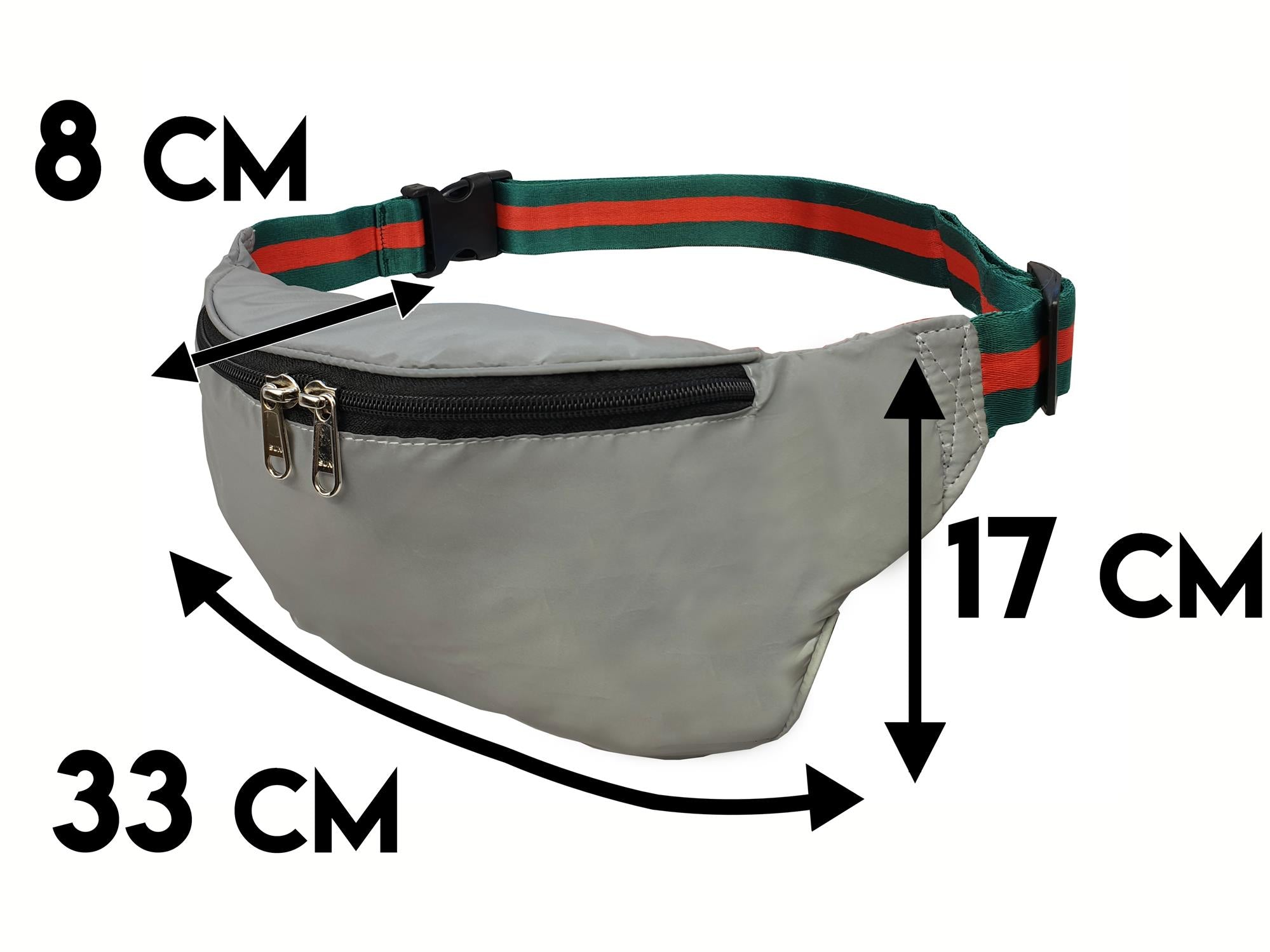 Reflective High Visibilty Bumbag RL626GUtech