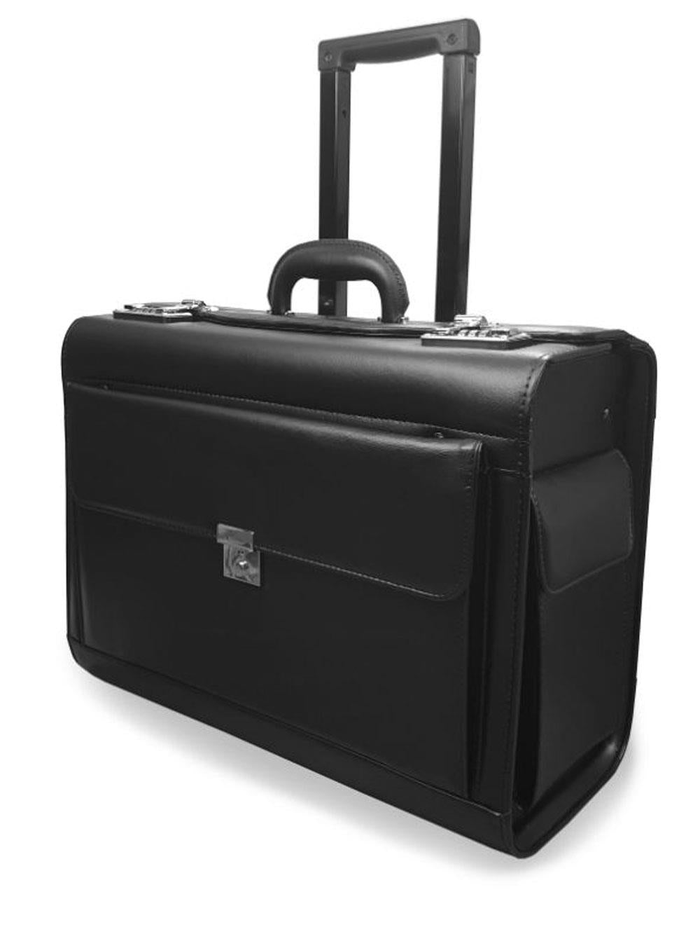 Pilot Briefcase Black RLPC9142K 2 Wheels