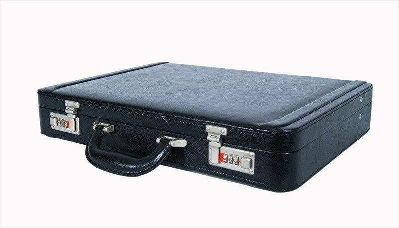 Briefcase Faux Artificial Leather Attache Case RL41K