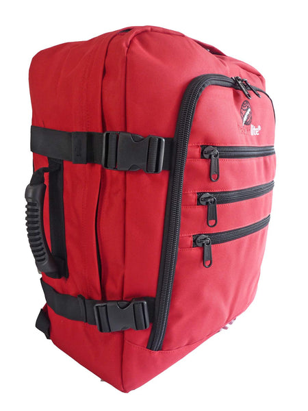 Hand Luggage Backpack Cabin Max 50cm Size RL42R side front view