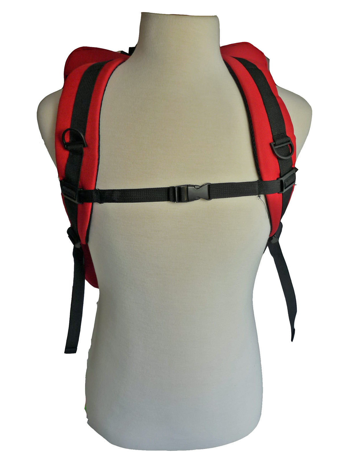 Hand Luggage Backpack Cabin Max 50cm Size RL42R straps view