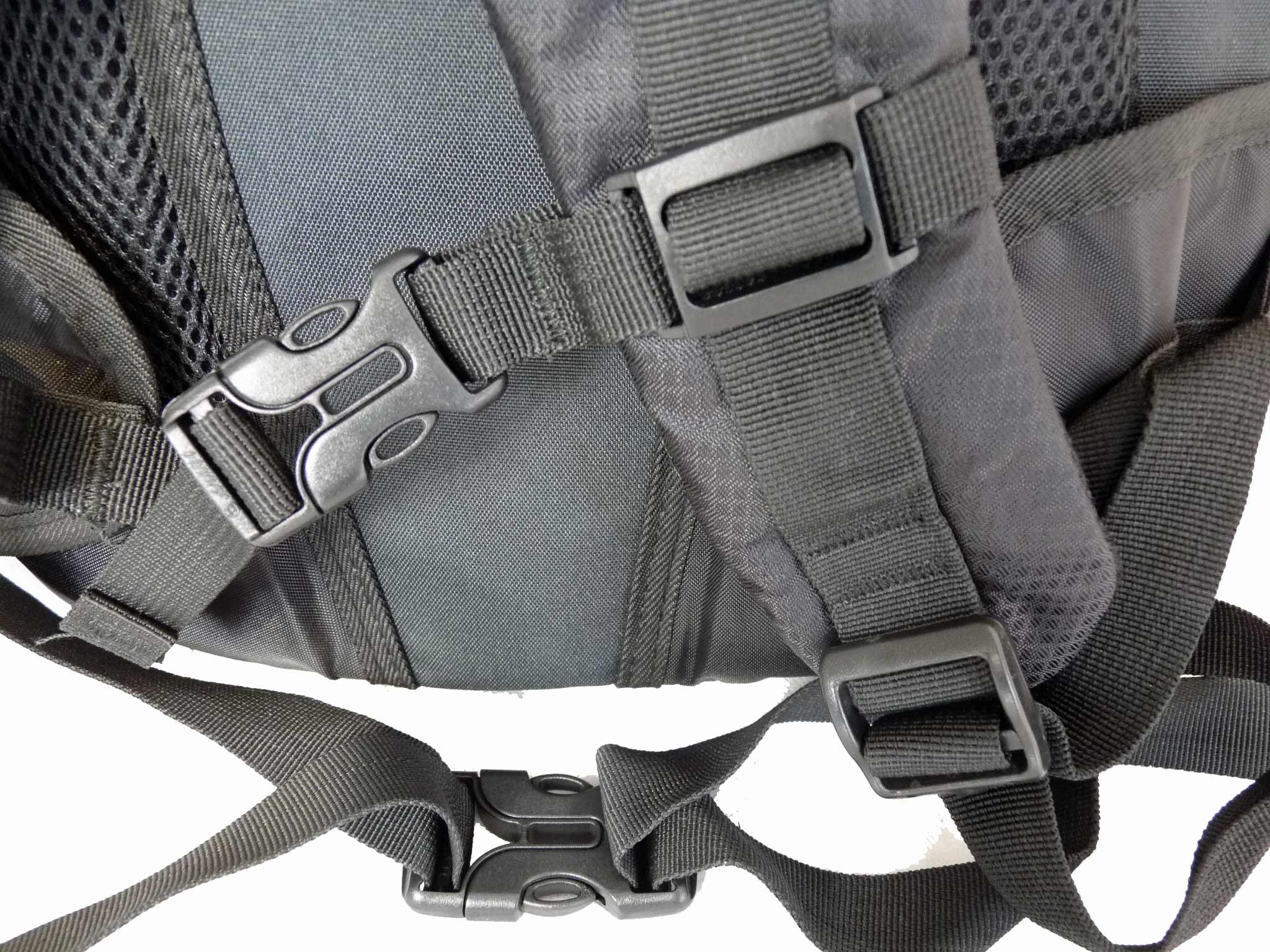 Laptop MacBook Air Backpack Rucksack Bag RL23K STRAPS VIEW