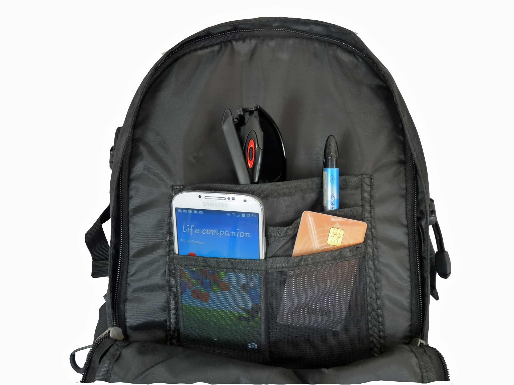 Laptop MacBook Air Backpack Rucksack Bag RL23K INSIDE VIEW