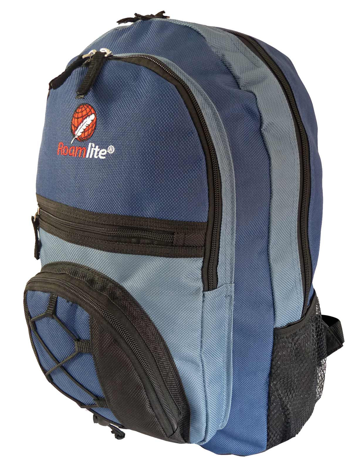 Kids School Bags RL37M Dark Blue Side View