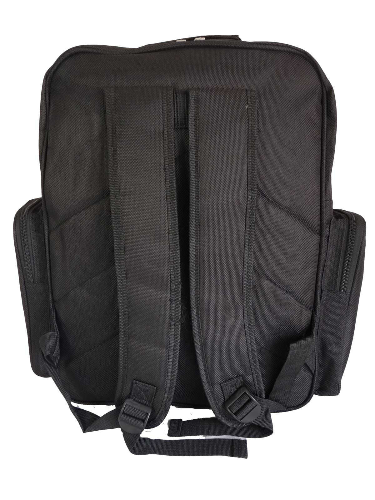 Black School Backpack RL60Kb Back View