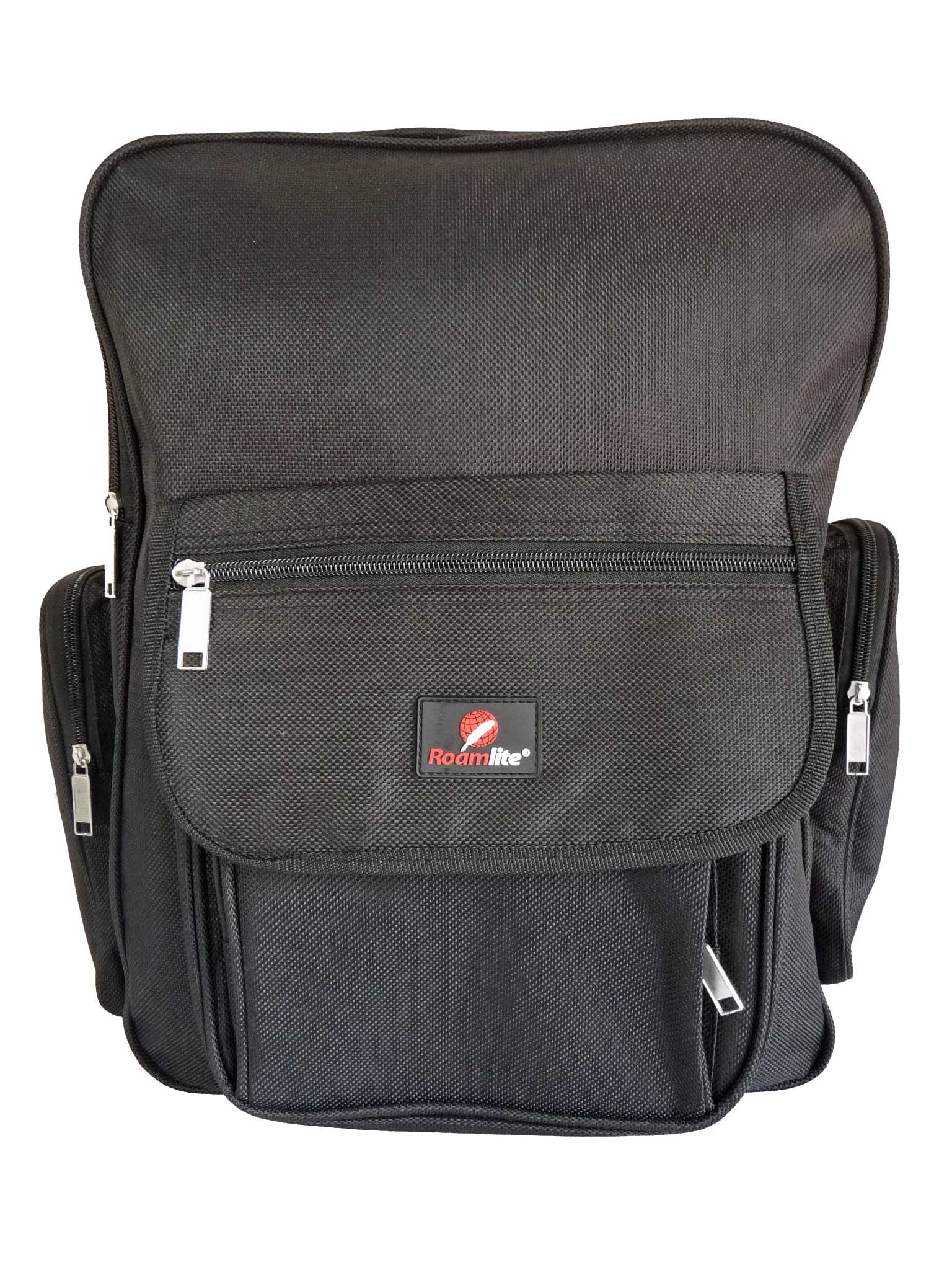 Black School Backpack RL60Kf Front View