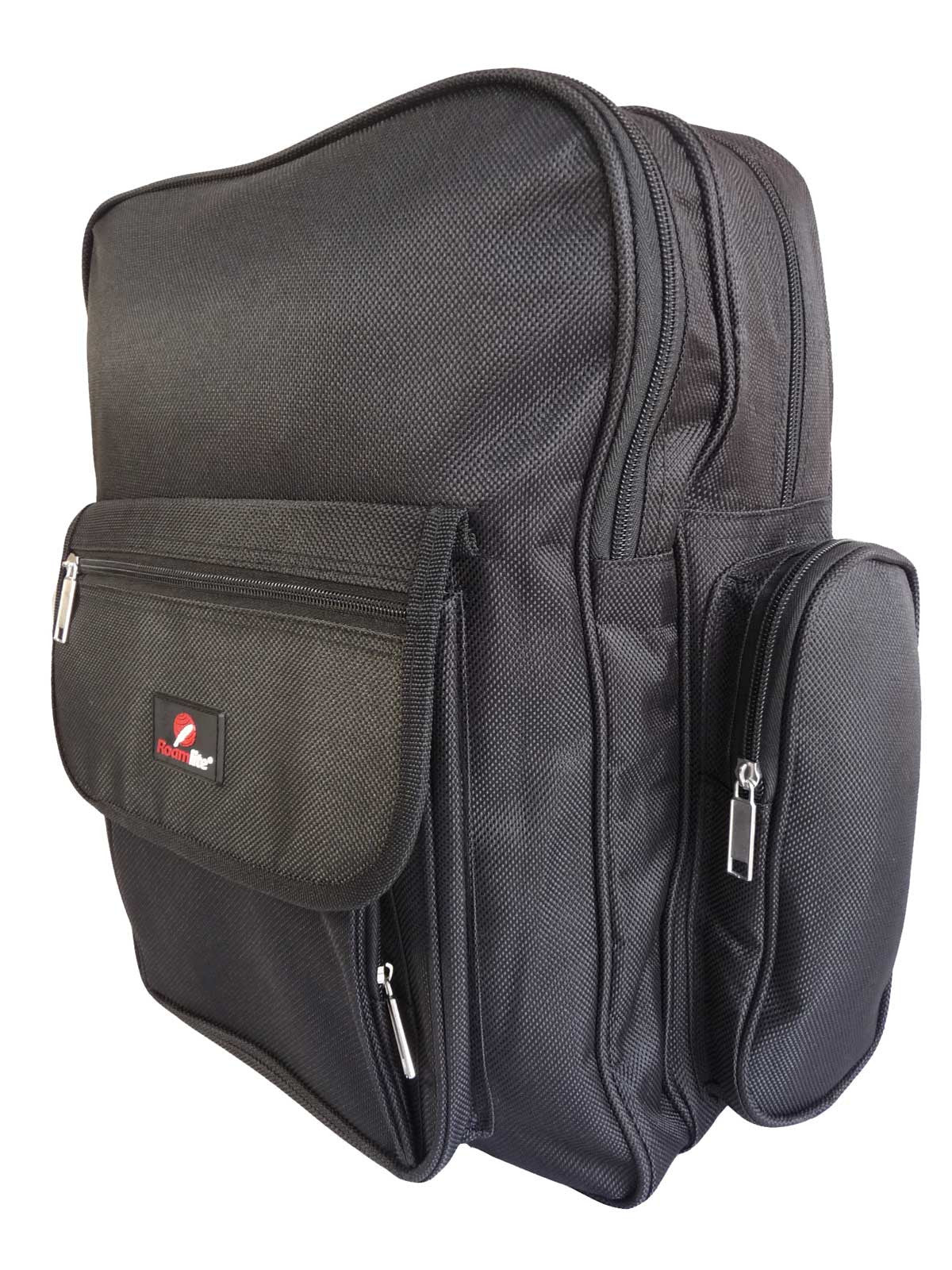 Black School Backpack RL60Ks Side View