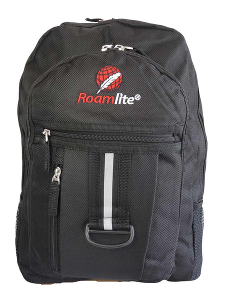 School Backpack RL32 Black Front View