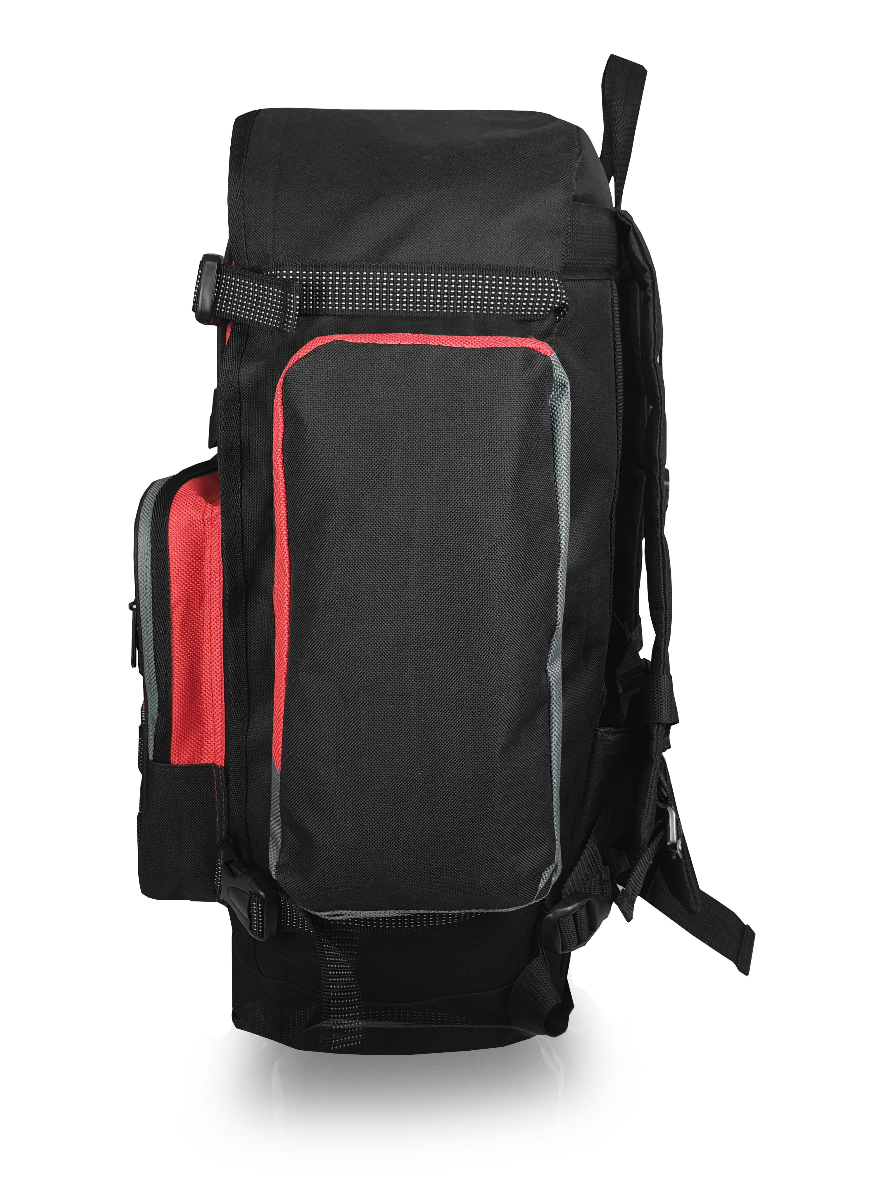 Large Hiking, Trekking, Travel and Camping Backpack, 55 Litre Capacity