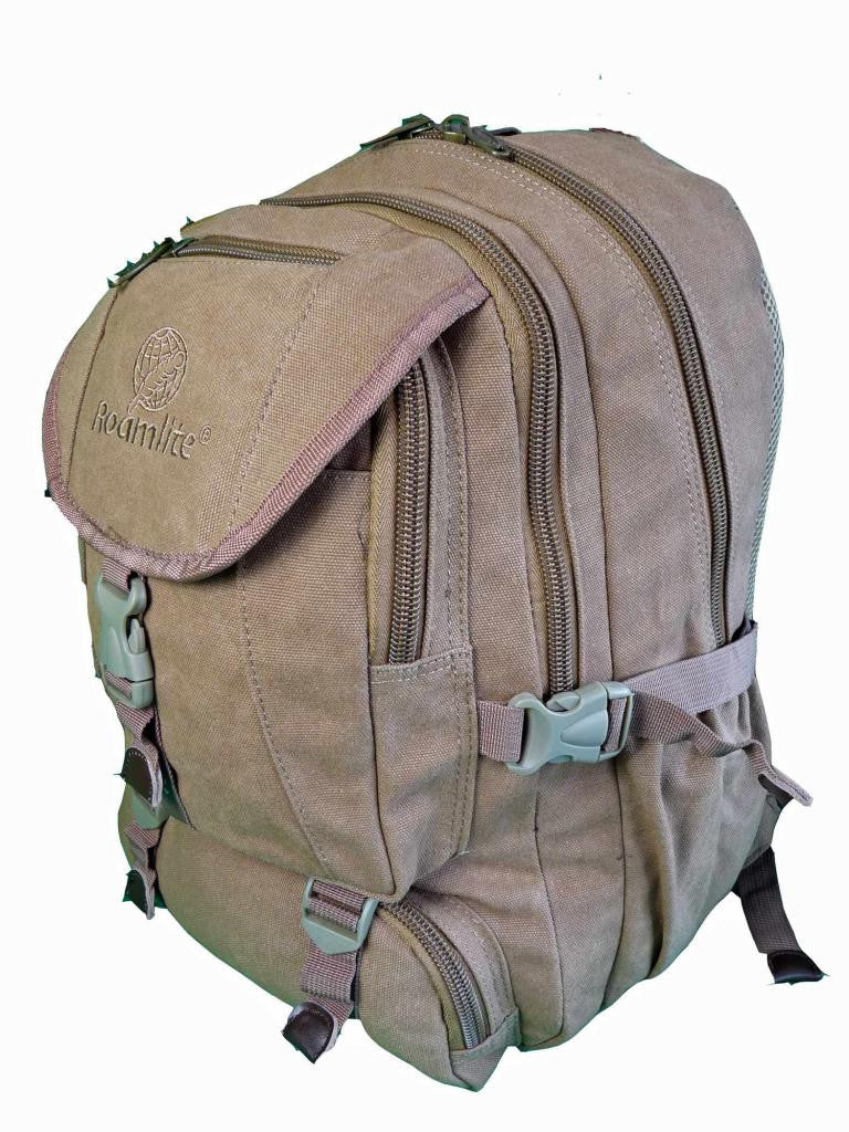 Canvas Laptop MacBook Air Backpack Rucksack Bag RL25B