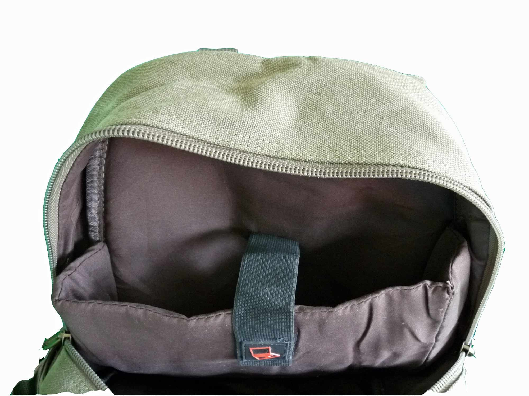 MacBook Air Backpack Rucksack Bag RL25G laptop view