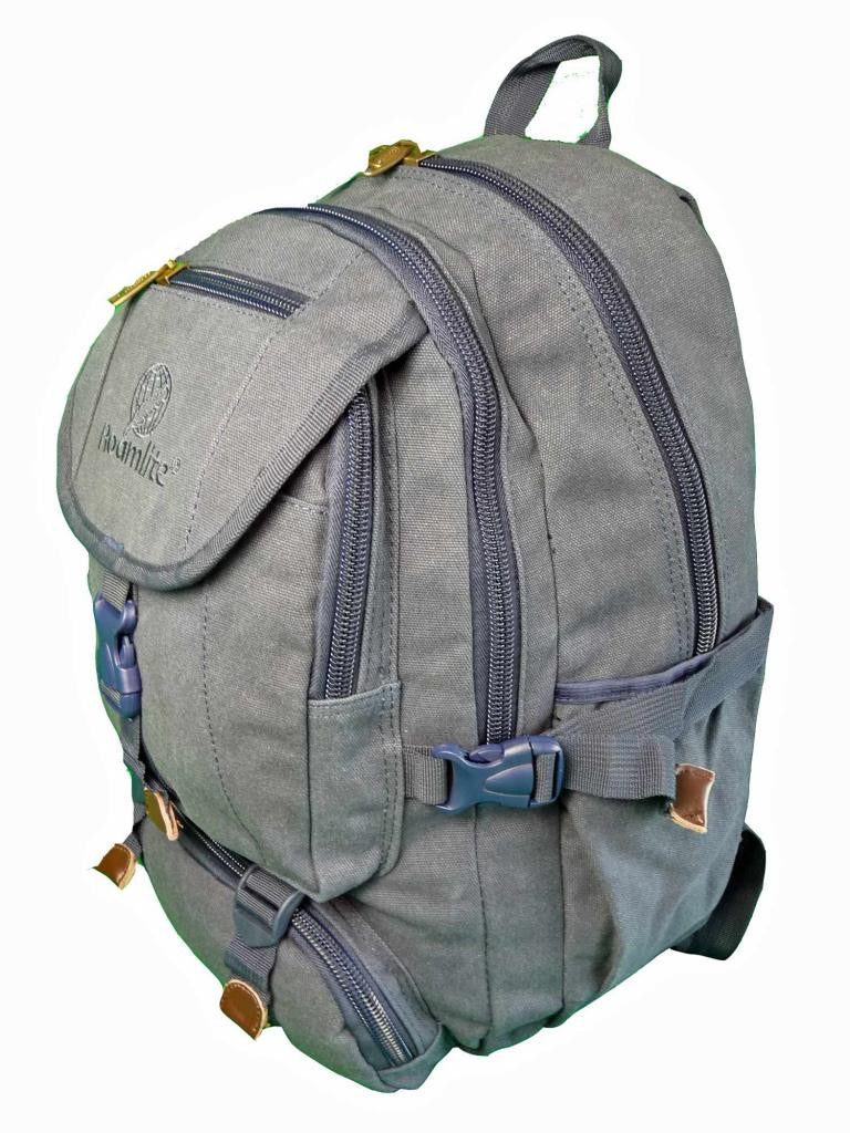 Canvas Laptop MacBook Air Backpack Rucksack Bag RL25N