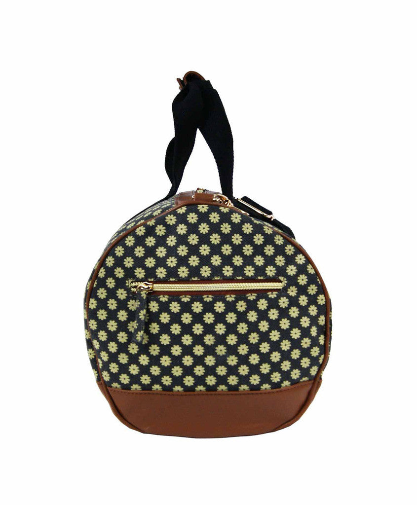 Travel Holdall Duffle Bag Wallflowers QL6155