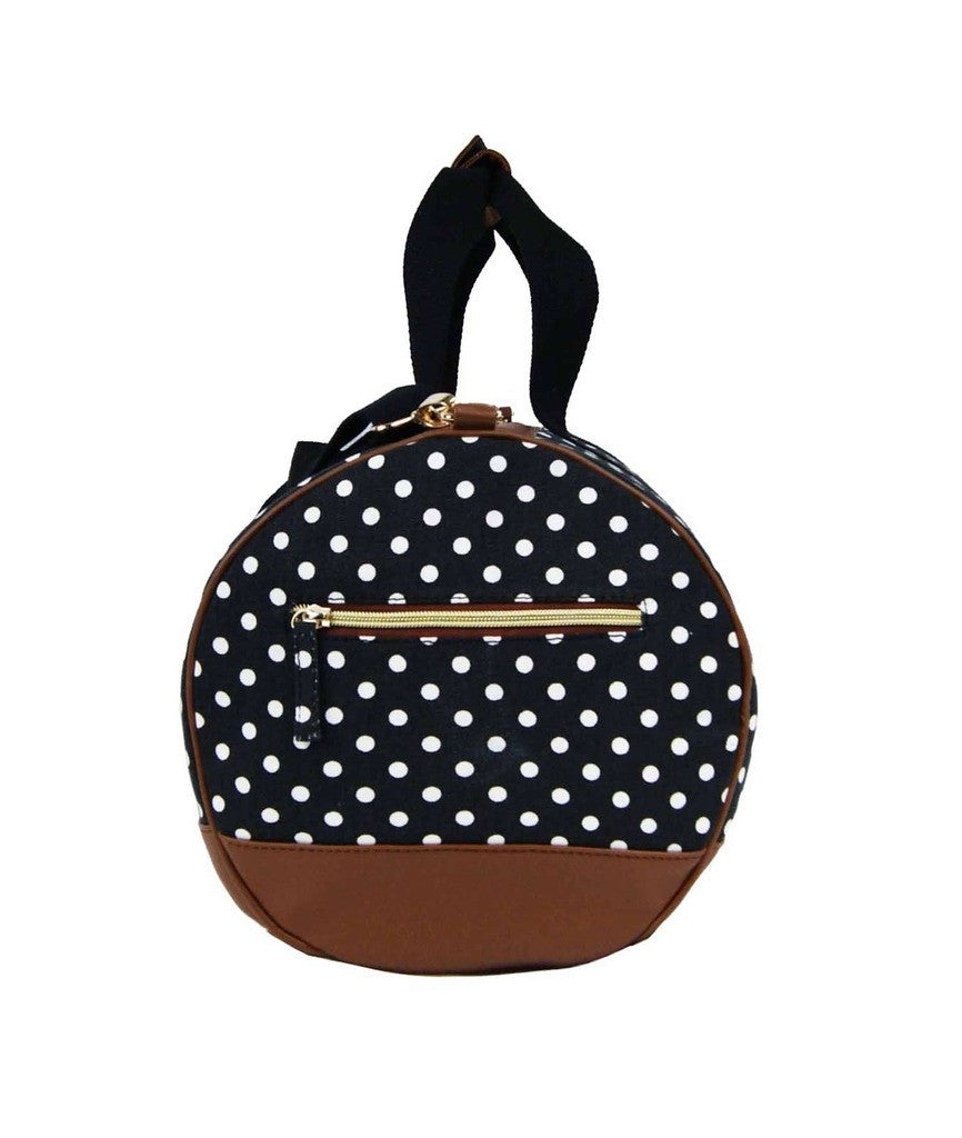 Travel Holdall Duffle Bag Polka Dot QL652