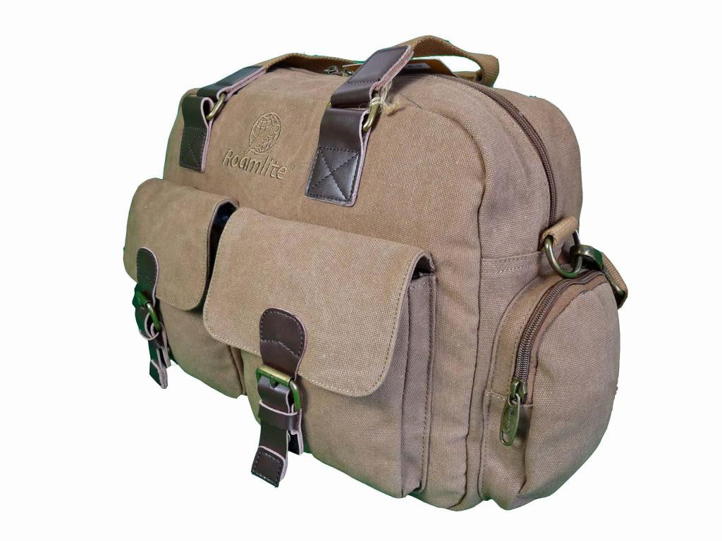 Travel Holdall GUARANTEED Hand Luggage Bag RL24B side view