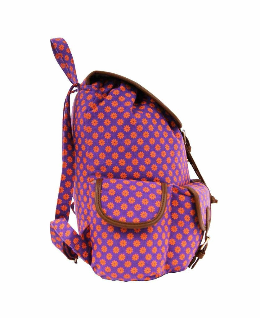 Festival Backpacks Bag Bags QL155Pu side view