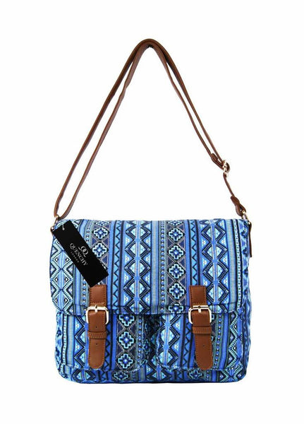 Canvas Travel Satchel Festival Bag QL5151M