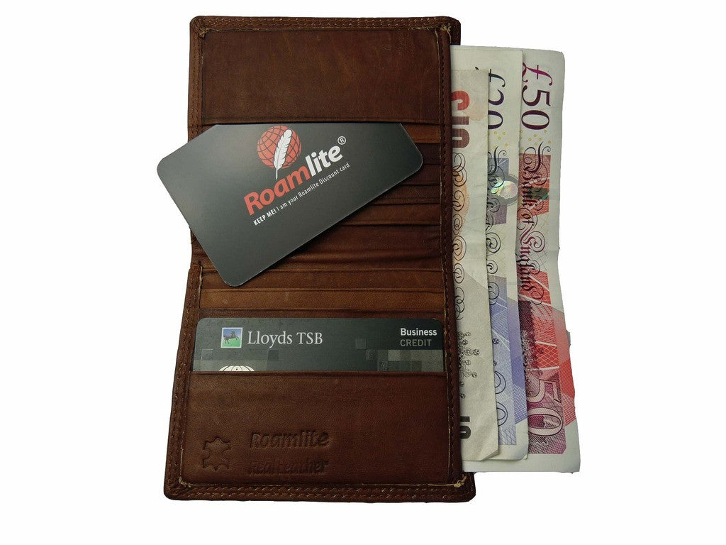 Credit Card Cards Wallet Wallets Holder R372LB inside view