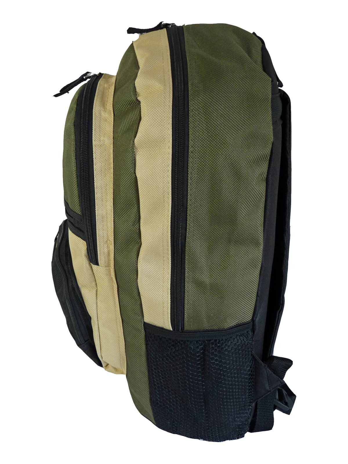 Kids School Bags RL37M Green S Side View