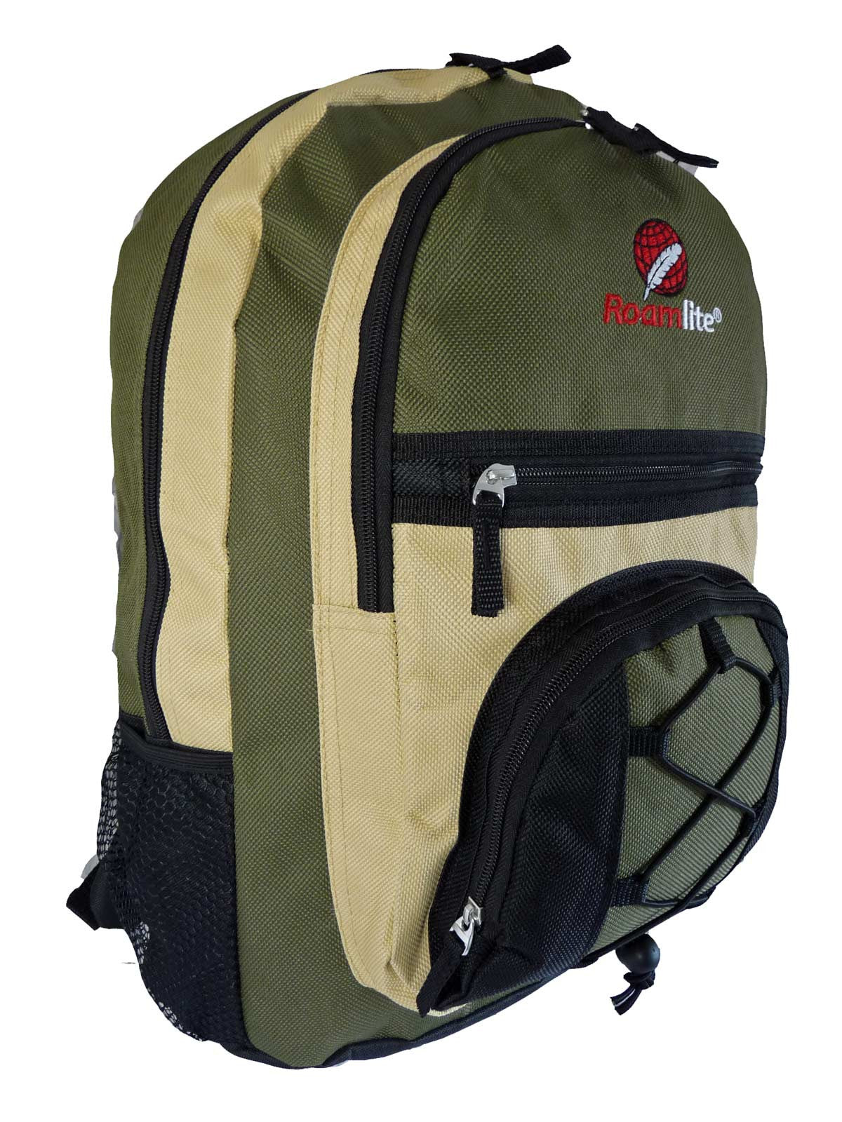 Kids School Bags RL37M Green R Side View