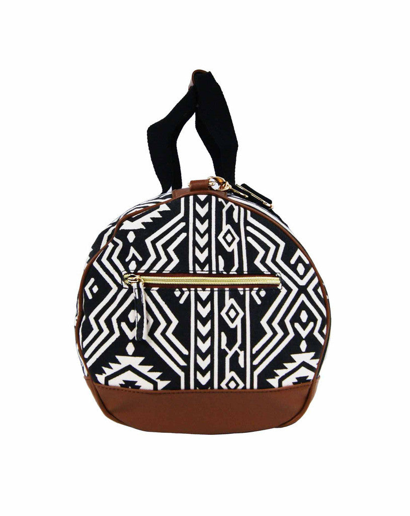 Travel Holdall Duffle Bag Tribal Aztec QL6154