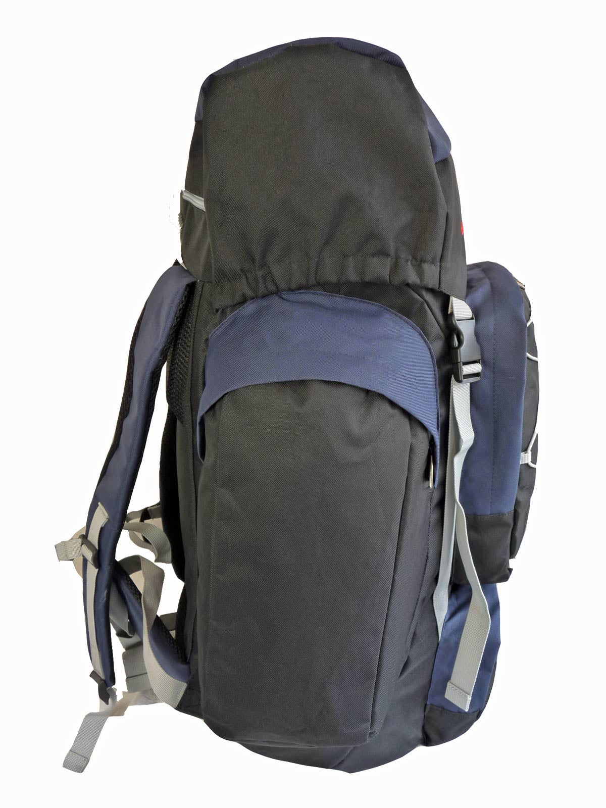 80 100 125 litre backpack blue e view