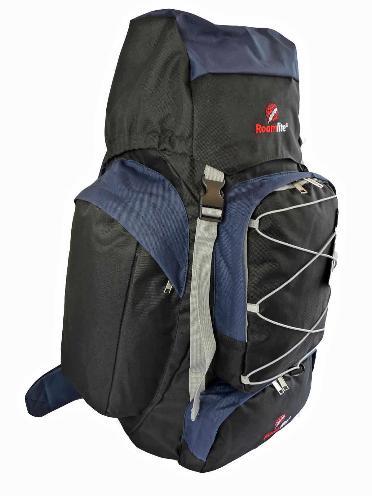 80 100 125 litre backpack navy r side view