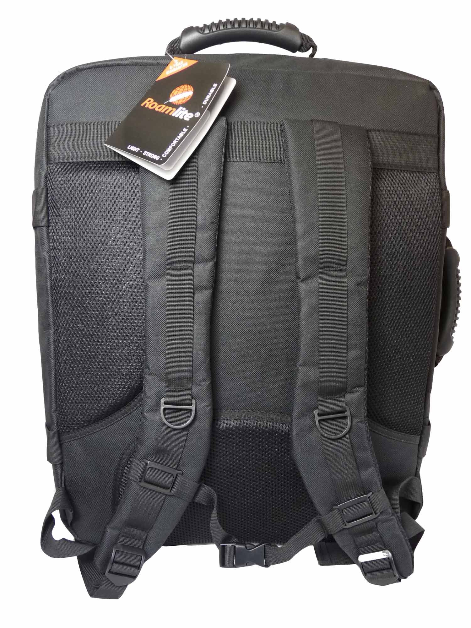 Hand Luggage Backpack Cabin Max 50cm Size RL42K rear view
