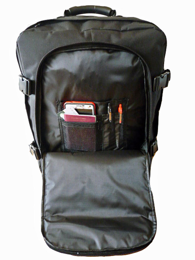 Hand Luggage Backpack Cabin Max 50cm Size RL42K inside view 2