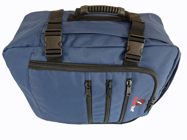 Hand Luggage Backpack Cabin Max 50cm Size RL42N holdall top view