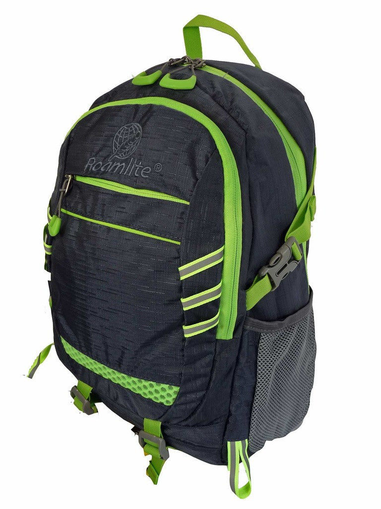 Hi High Viz Vis Backpack RL47N Navy Blue L Side View