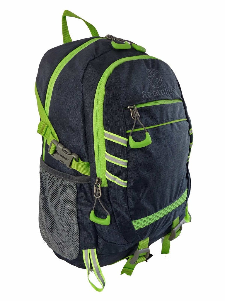 Hi High Viz Vis Backpack RL47N Navy Blue Side View