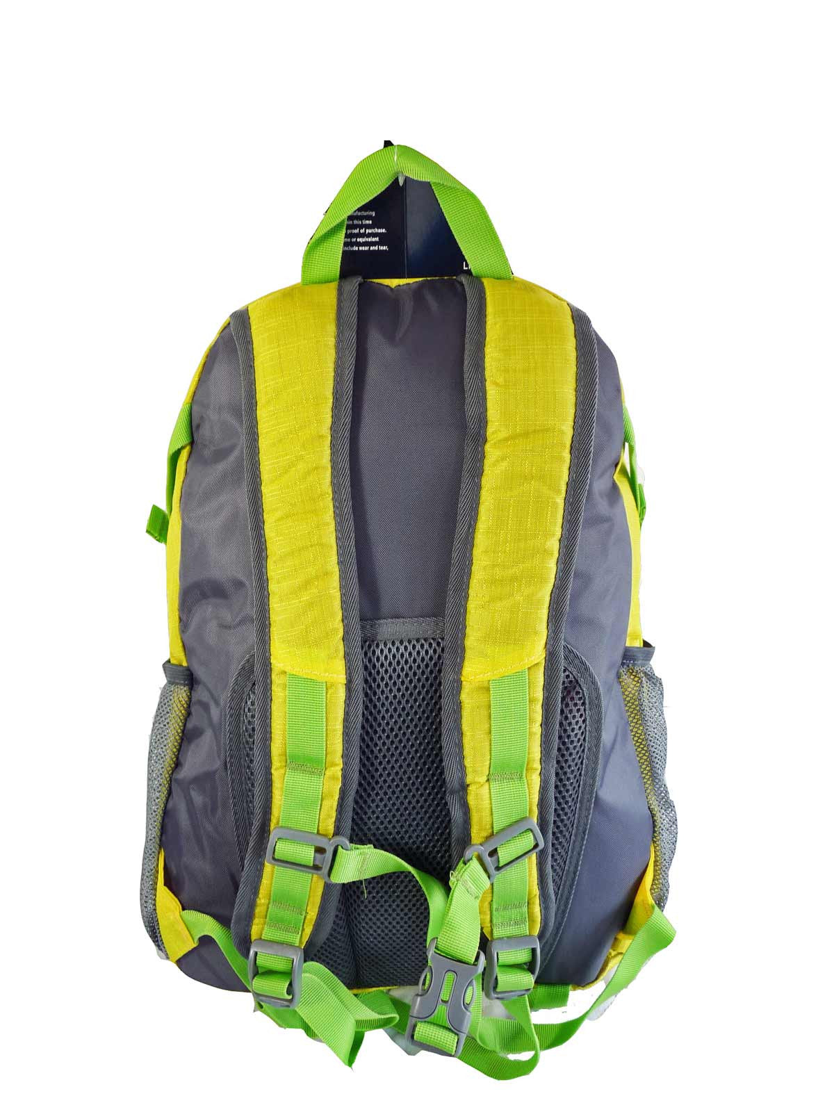 Hi High Viz Vis Backpack RL47Y Yellow Back View 2