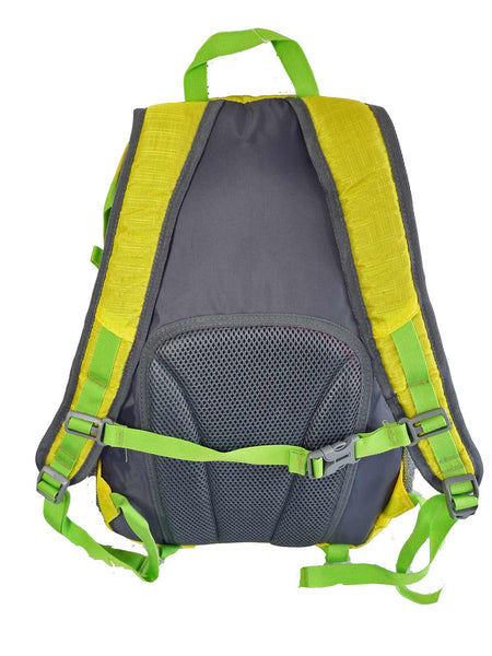 Hi High Viz Vis Backpack RL47Y Yellow Back View
