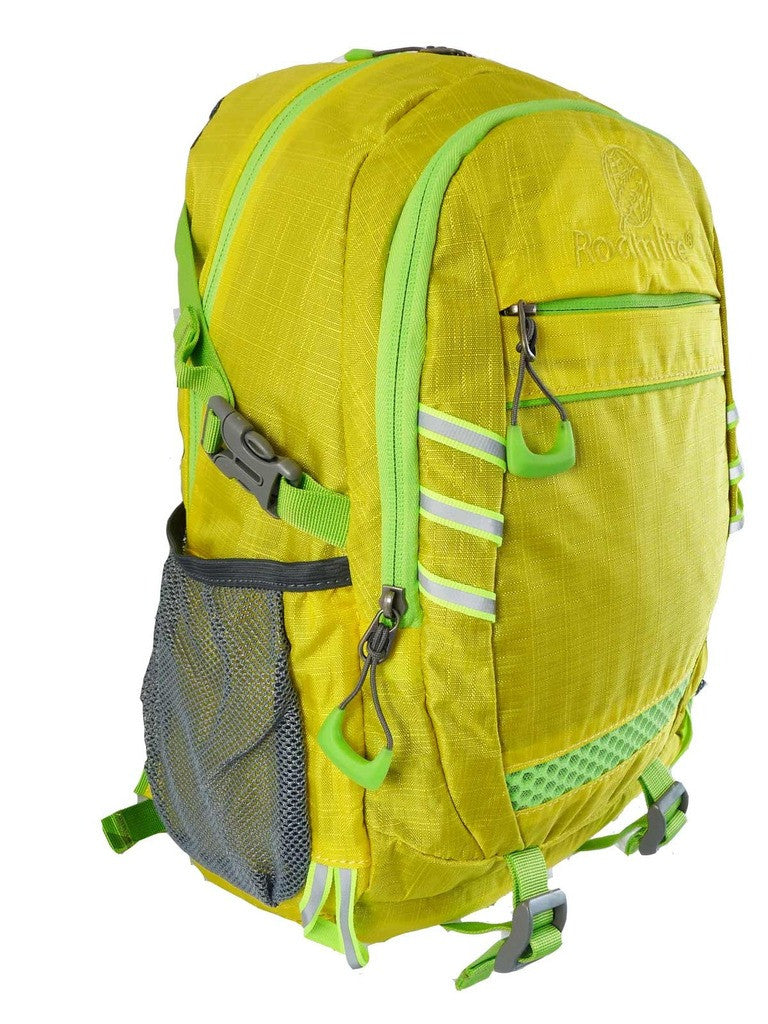 Hi High Viz Vis Backpack RL47Y Yellow Side View