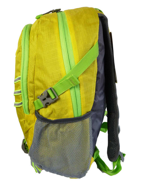 Hi High Viz Vis Backpack RL47Y Yellow Side Side View