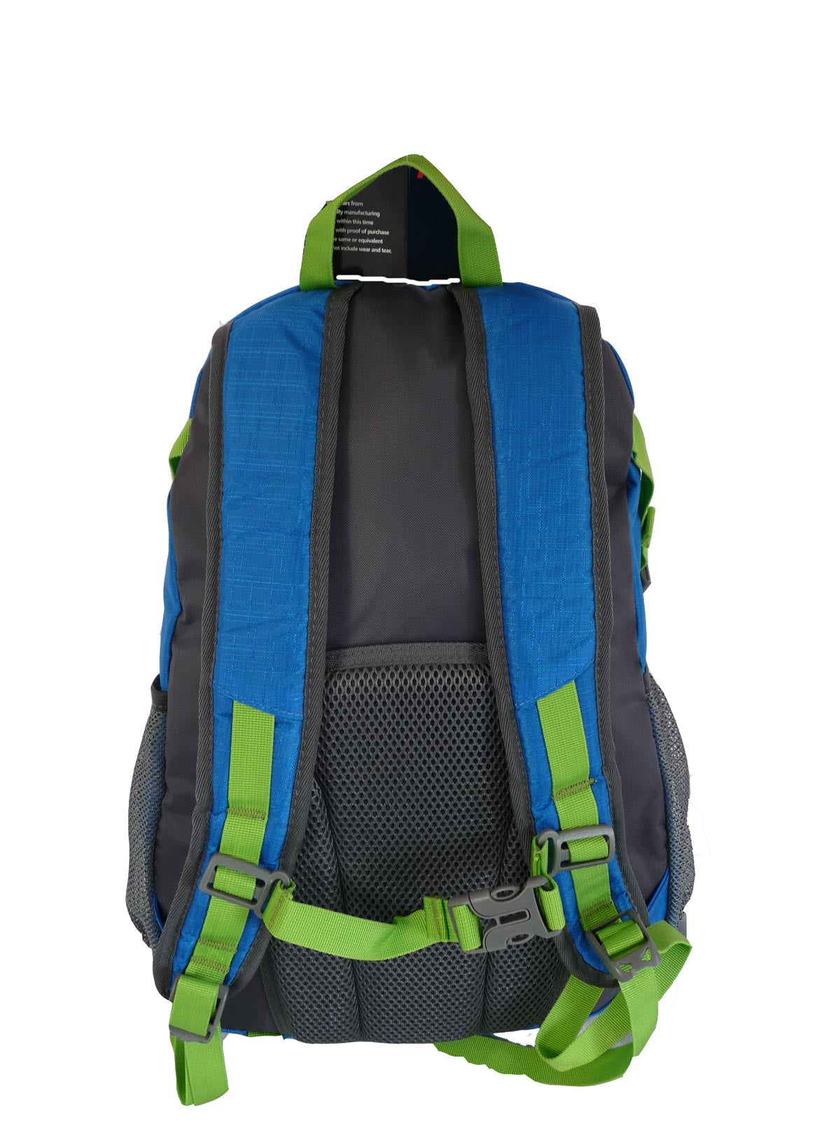 Hi High Viz Vis Backpack RL47LB Light Blue Back View 2
